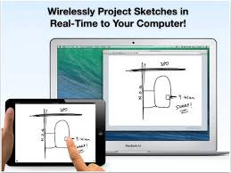 air sketch project your drawings and presentations from ipad to a