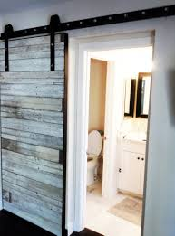 Barn Doors For Bathrooms by White Closet Barn Doors Mitchell Gold Cottage At Serenbe Bathroom