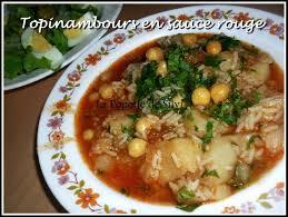cuisine de ratiba topinambours en sauce batata terfasse chtitha la popotte