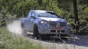 2018 mercedes x class spied on and off road