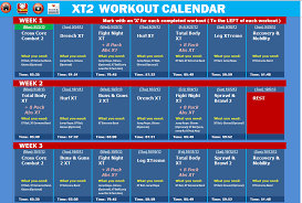 Workout Excel Spreadsheet Tapout Xt2 Excel Workout Tools