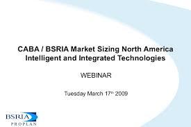 caba bsria market sizing north america intelligent and integrated tec u2026