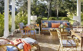 Vintage Bamboo Patio Furniture - hydrangea hill cottage gary mcbournie u0027s nantucket cottage