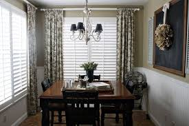Plantation Shutters And Drapes Curtain Ideas With Plantation Shutters Decorate The House With