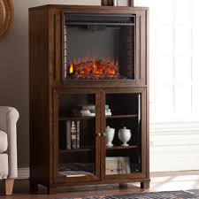Electric Fireplace With Storage by Stella Storage Tower Electric Fireplace U0026 Reviews Joss U0026 Main