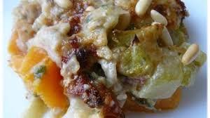 cuisiner les chayottes chayottes sur lit de patates douces en gratin recette par