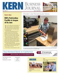Gaurdie E Banister Jr Kern Business Journal June July 2015 By Tbc Media Specialty