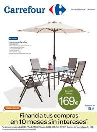 muebles de jardin carrefour catálogo carrefour 2014 ofertas en muebles de jardín marzo