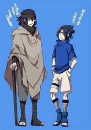 sasuke and if sasuke and could go back in time and give their