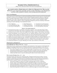 Marketing Executive Resume Sample by Marketing Executive Resume Samples Free Resume For Your Job