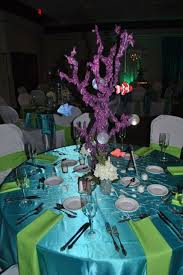 Under The Sea Centerpieces by Under The Sea Beach Quinceañera Party Ideas Sweet 16 Beach And