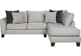 Rooms To Go Sleeper Loveseat Ashford Landing Gray 2 Pc Sectional Living Room Sets Gray