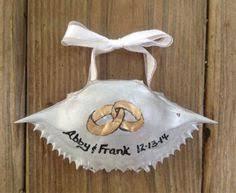 painted santa claus crab shell ornament shell