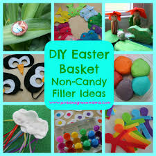Homemade Easter Baskets by Pink And Green Mama Easter Basket Non Candy Filler Ideas To Make