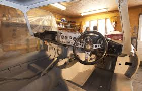 lexus edmonton kijiji barn find jaguar e type being restored to 1962 glory driving