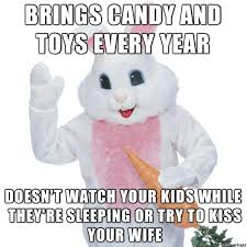 Funny Easter Memes - good guy easter bunny funny pics memes captioned pictures
