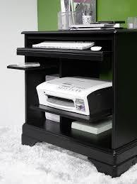 bureau informatique noir bureau informatique en merisier de style louis philippe finition