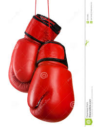 pair of leather boxing gloves stock photo image 29412682