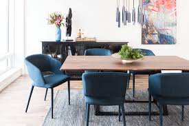 blue dining room table william dining chair navy blue products moe s usa dennis futures