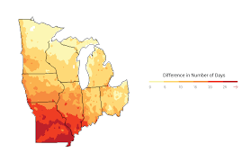 Future Temperature And Precipitation Change In Colorado Noaa Midwest National Climate Assessment