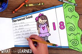 new year picture books new year goal setting flap book craftivity