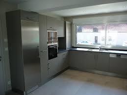 cuisine bois gris clair cuisine repeinte en gris