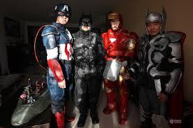 Avengers Halloween Costume College Student Amazing Diy Avengers Costumes