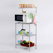 3 tier kitchen cabinet organizer 3 tier kitchen baker s rack microwave oven stand storage cart