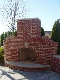 outdoor brick fireplaces with fancy brick corner outdoor fireplace