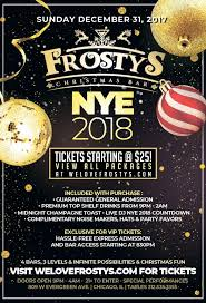 nye noisemakers frosty s ultimate nye 2018 party tickets frosty s christmas