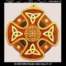 wooden celtic cross celtic wall crosses