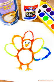 corn cob craft painting for easy thanksgiving crafts