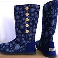 ugg denim sale 63 ugg boots ugg lo pro denim jacquard boots from s