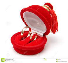 wedding rings in box two wedding rings in box stock photo image of celebrate 2738424