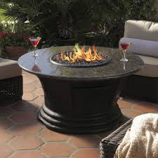 Cool Firepit Dining Room Fascinating Black Granite Pit Dining Table