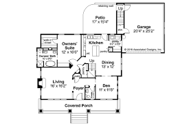 Foyer Plans Craftsman House Plans Carrington 30 360 Associated Designs