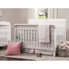 White Convertible Baby Crib Davinci Kalani 4 In 1 Convertible Wood Baby Crib In White M5501w