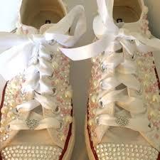 wedding shoes converse converse wedding shoes on tradesy