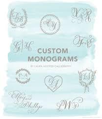 Letter Monogram Three Letter Monogram U2013 Laura Hooper Calligraphy
