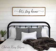The Collection of Youu sign x decor for above bed letus