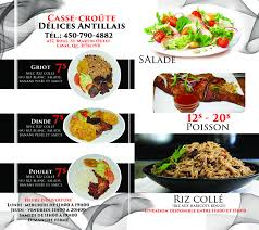 delice cuisine delice antillais opening hours 437 boul martin o laval qc