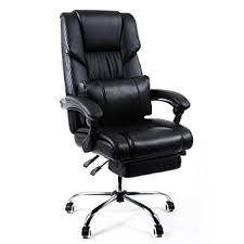 fauteuil pour bureau songmics fauteuil de bureau chaise pour ordinateur avec repos