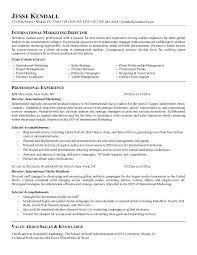 sample resume marketing executive functional resume sample marketing sales sporting goods within 23