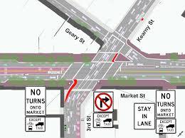 San Francisco Street Parking Map by A Safer Market Street Just Days Away Sfmta