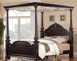 Wood Canopy Bed Frame Queen by Victorian Furniture Collection On Ebay