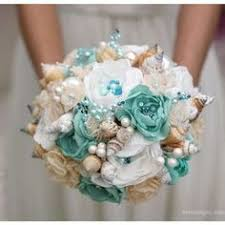 wedding bouquets with seashells how to make a seashell bridal wedding bouquet save money
