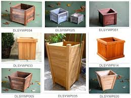 large square wooden planters extra large square wooden planters