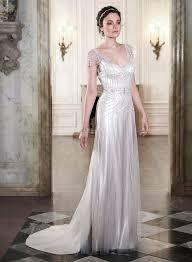 art deco inspired wedding dresses wedding ideas