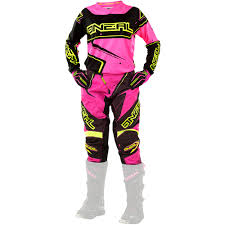 ladies motocross boots oneal 2017 new mx youth element hi viz pink girls motocross gear
