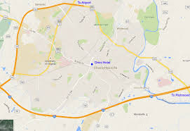 Map Of Charlottesville Va Clfv 2016